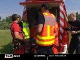 Scénario catastrophe au parc de Miribel-Jonage (Rhône)