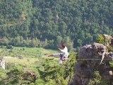 Highline de 12 m - Millau Boffi (Natural Games 30/06/2010)