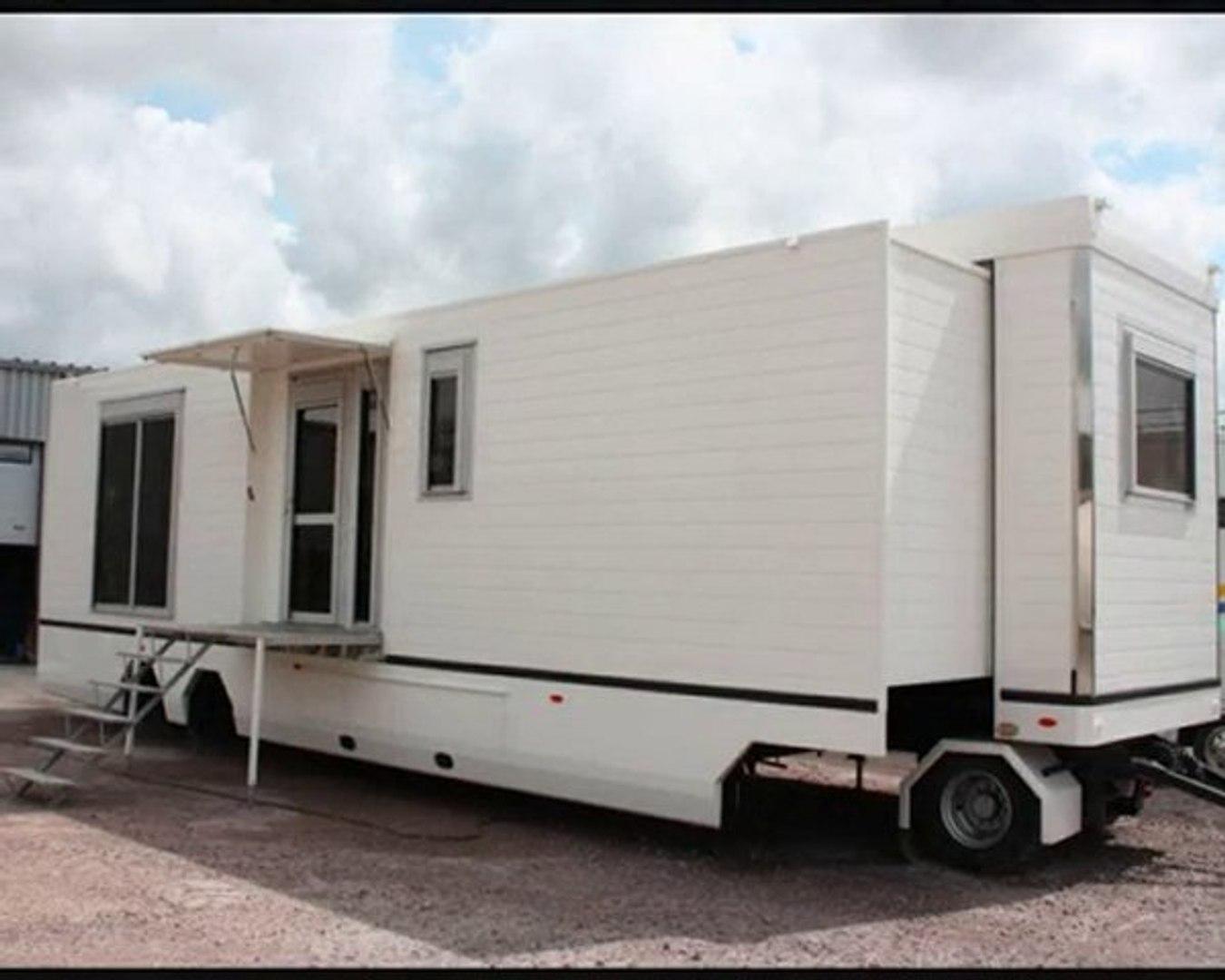 Les Plus Belles Caravanes De Forains semi-remorque aménagée par eddy caravanes