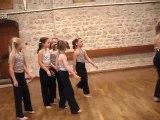 spéctacle de danse de louane 2010