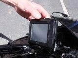 GPS Garmin Zumo 220 : Mise en place et retrait sur la moto