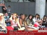 Le fans de Tokio Hotel en pélerinage au Zenith de Lille !