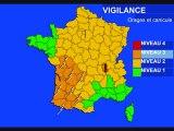Météo 3 juillet 2010: Vigilance canicule et orages