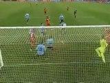 Handball by Suarez from Uruguay, Ghana VS Uruguay