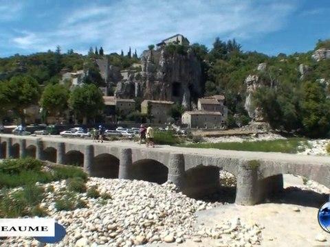 Village de caractère: Labeaume (Ardèche)