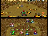 video test retro: super mario kart super nes