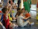 Fête du mini-basket à Paron