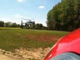 DZ Helico du Samu sur un Accident à Fillières !!