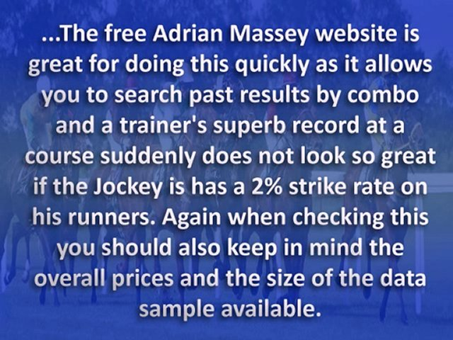 6 Things You NEED to Know About Horse Racing Trainers…