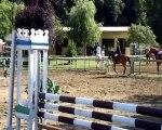 concours chevaux CSO amelie les bains