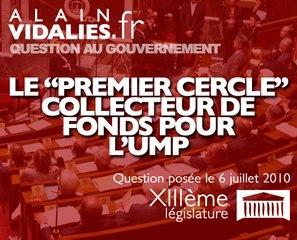 """Le """"premier cercle"""" collecteur de fonds pour l'UMP"""