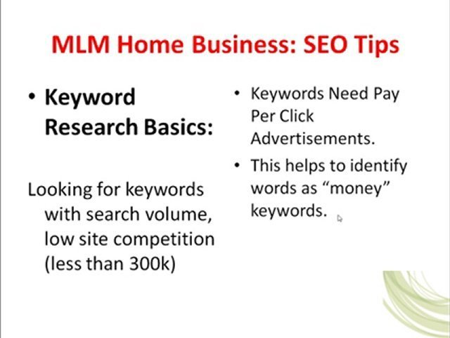 MLM Home Business, MLM Home Business Opportunity, MLM Leads