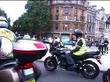 Trafalgar Square London bike demo WMBC and WECS 7th July