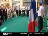 Inauguration d'un nouveau commissariat de police (Lyon)