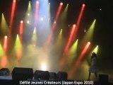Défilé Jeunes Créateurs Japan Expo 2010
