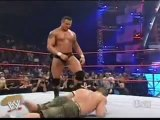 The Rated RKO with Lita vs Trish Carlito and John Cena part1