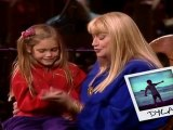 Mary Travers sings to her grand daughter