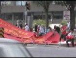 Partisans payés par l'ambassade de Chine à Ottawa