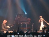 X JAPAN : YOSHIKI & Toshi from X Japan au Japan Expo 2010