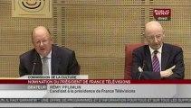 EVENEMENT,Audition de Rémy Pflimlin au Sénat pour la Présidence de France Télévisions