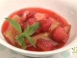Soupe rhubarbe et fraises - 750 Grammes