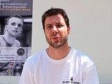 Interview Renan LAVIGNE Tournoi International de squash 2010