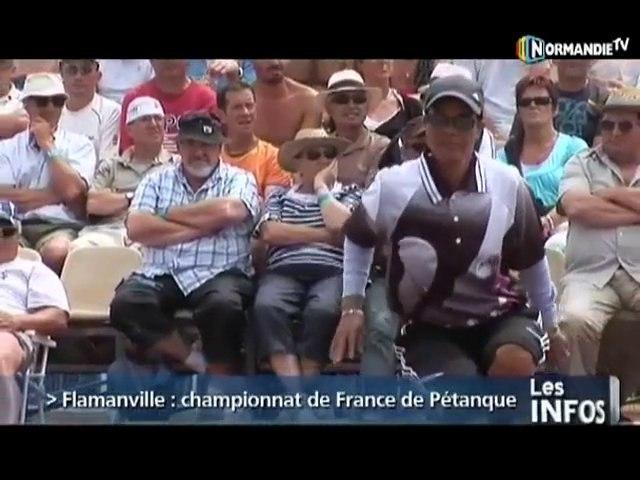 Championnat de France de Pétanque (Flamanville)