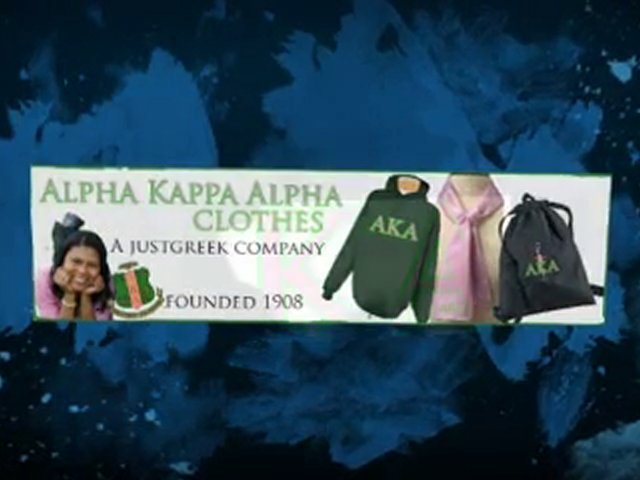 Alpha Kappa Alpha Print T Shirt