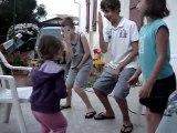 Haize donne son cours de danse