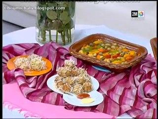 Tajine de boule de poulet et crevette
