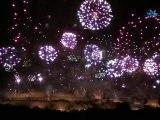 Feu d'Artifice Embrasement Cité Carcassonne 14 juillet 2010