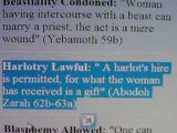 PT3 EDOMITES REVEALING THEMSELVES- THE TALMUD VS THE BIBLE