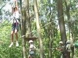 Parcours aventures dans les branches