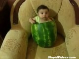 Now we know eating watermelon is no longer a race thing!
