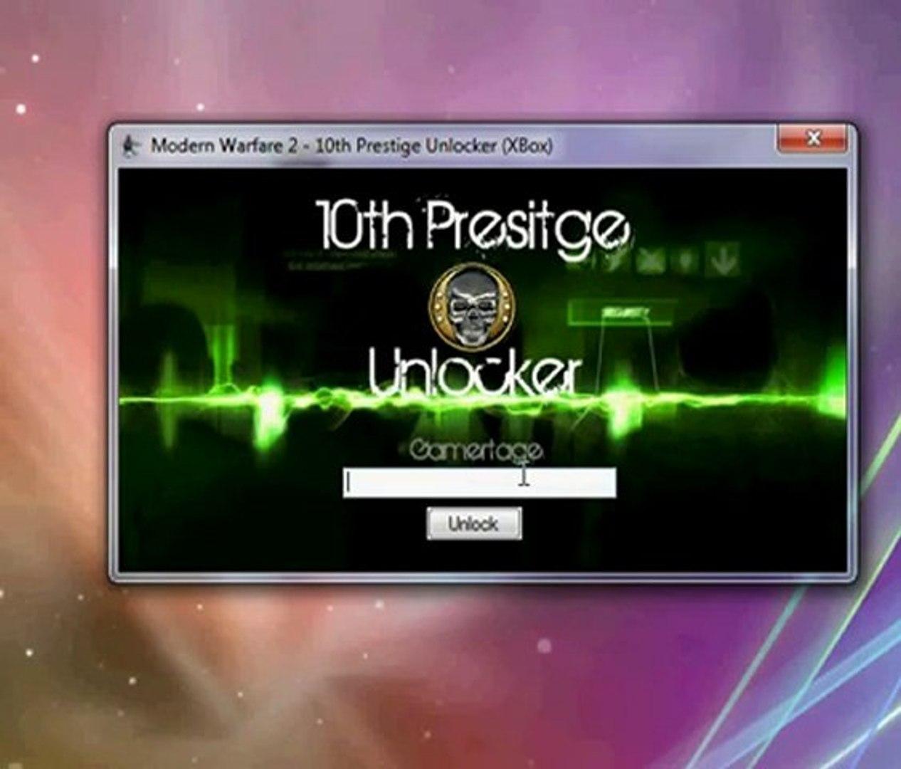 Modern Warfare 2 10th Prestige Unlocker (Download Here)