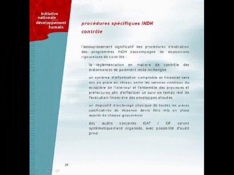 INDH : Plateforme pour un plan d'action -OMDH-