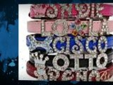 Hollywood Jeweled Dog Collars, Custom, Personalized Collars