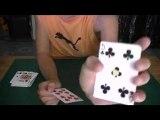 tour de magie: le retournement de carte
