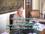 3 questions à Yves Broussoux, président de la CCI du  Loiret