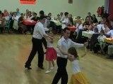 danses à deux à Douarnenez enfants initiés cha cha cha