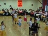 danses à deux à Douarnenez gala 2010enfants débutants