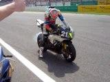 24 Heures du Mans 06' Arrivée burn