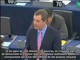 crash avion Nigel Farage 06 05 2010 commission européenne