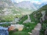 torrent près de Valloire Alpes