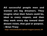 All successful people men and women are big dreamers. ...
