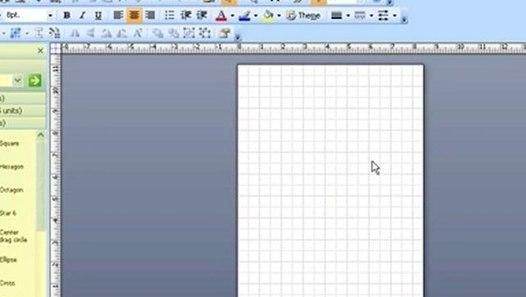 Microsoft Visio Help  Using Basic Drawing Skills
