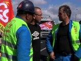 N. Sarkozy visite les chantiers de Saint-Nazaire