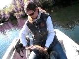 Juillet 2010 sur le Gardon avec Cawole, no kill du chevesne