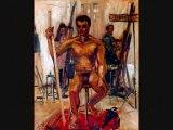 LE PORTRAIT PEINTURES DE LOUIS RUNEMBERG ARTISTE PEINTRE ART