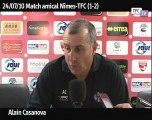 Nîmes TFC: la réaction de Casanova